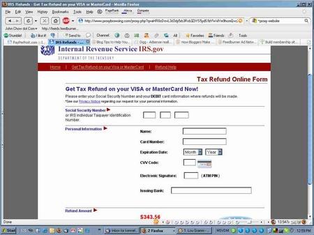 refund fake website