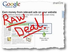 raw deal Adsens