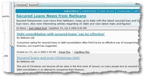 sample feed netloans