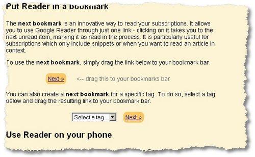 reader bookmark