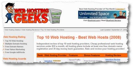 webhost geeks