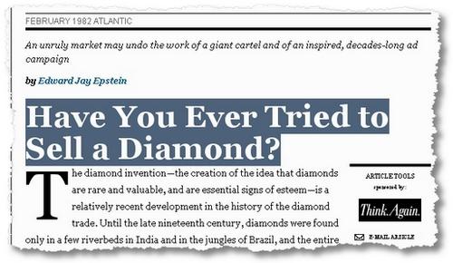 sell a diamond