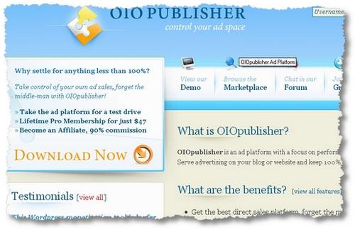 oiopublisher program